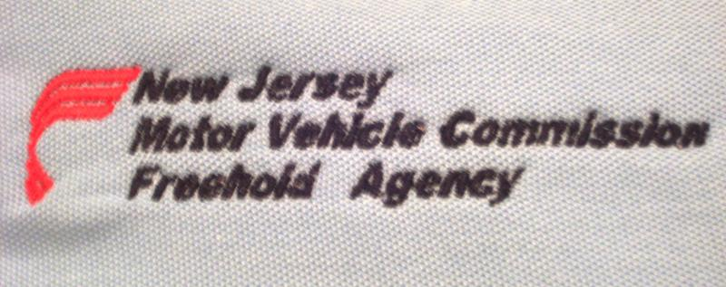 C c embroidery creations llc embroidery designs samples for Freehold motor vehicle agency